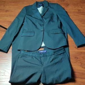 Mexx Navy Striped Pant Suit NWOT